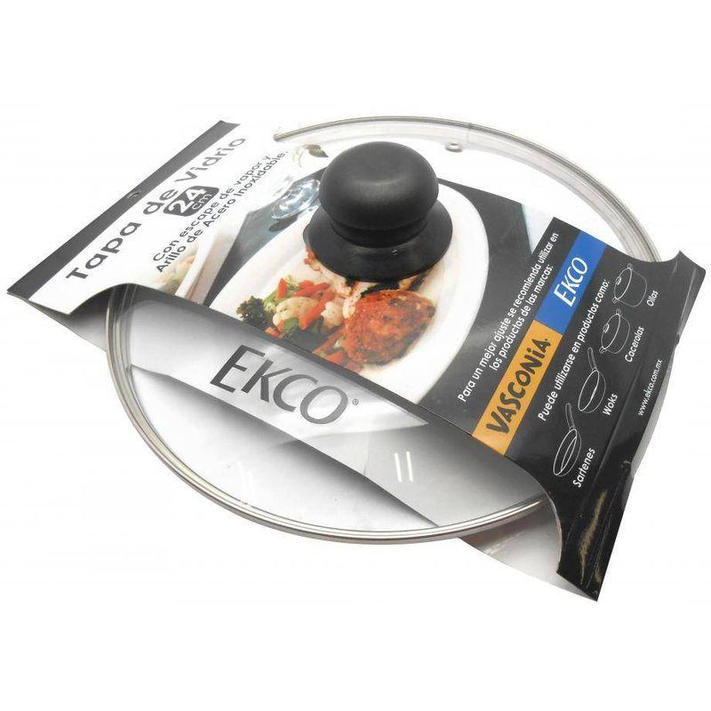 Tapa-de-vidrio-de-24-cm.-Con-fajilla-Ekco-Classic-de-Vidrio-Color-Transparente-con-Tapa-de-Vidrio-tienda-en-linea-La-Vasconia
