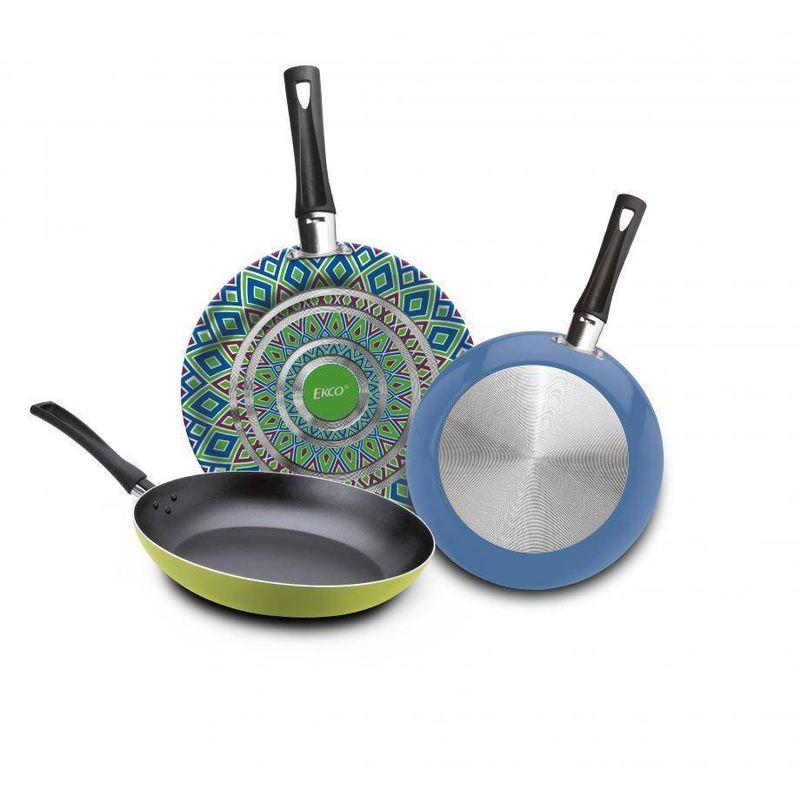 3-Pack-de-Sartenes-Ekco-Trendy-de-3-Piezas-de-Aluminio-Color-Verde-y-azul-con-Duraflon®-PLUS-tienda-en-linea-La-Vasconia