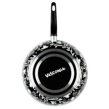 Sartén Vasconia Trendy de Aluminio Color Negro con Duraflon® de Alto Rendimiento