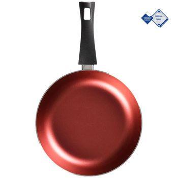 Sartén de 24 cm. Vasconia Básicos de Aluminio Color Rojo con Teflon™ Classic Easy Clean