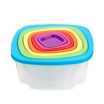 Set de herméticos apilables Ekco de Polipropileno Varios Colores