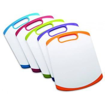 Tablas de colores de 11x14 cm. Farberware de Polipropileno Color Blanco y multicolor