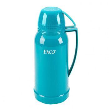 Termo de 1.8 litros Ekco Classic de Ampolla de vidrio Color Mixto con Tapa-taza y Tapa anti-derrames