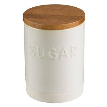 Canister para azúcar Lacafetiere de Cerámica y Madera