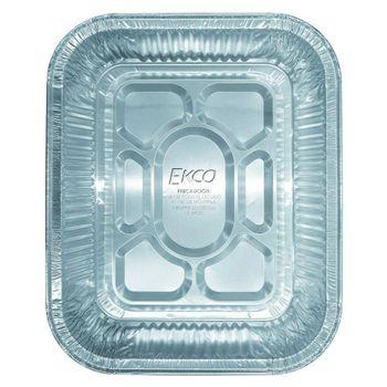 Charola de Foil rectangular multiusos Ekco Bakers secrets de Foil Color Plateado Satinado