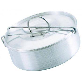 Flanera con cierre de 18 cm Ekco Bakers secrets de Aluminio Color Plateado Satinado