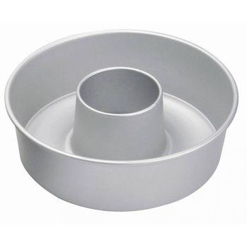 Molde para rosca de 22cm Ekco Bakers secrets de Aluminio Color Plateado Satinado
