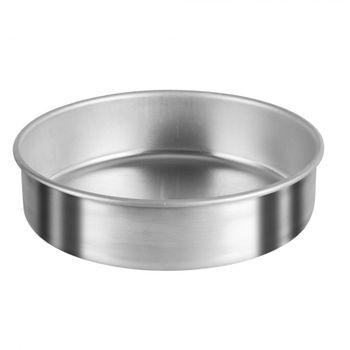 Molde para pan de 22cm Vasconia Duralum de Aluminio Color Plateado Satinado