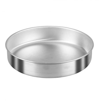 Molde para pan de 26 cm Vasconia Duralum de Aluminio Color Plateado Satinado