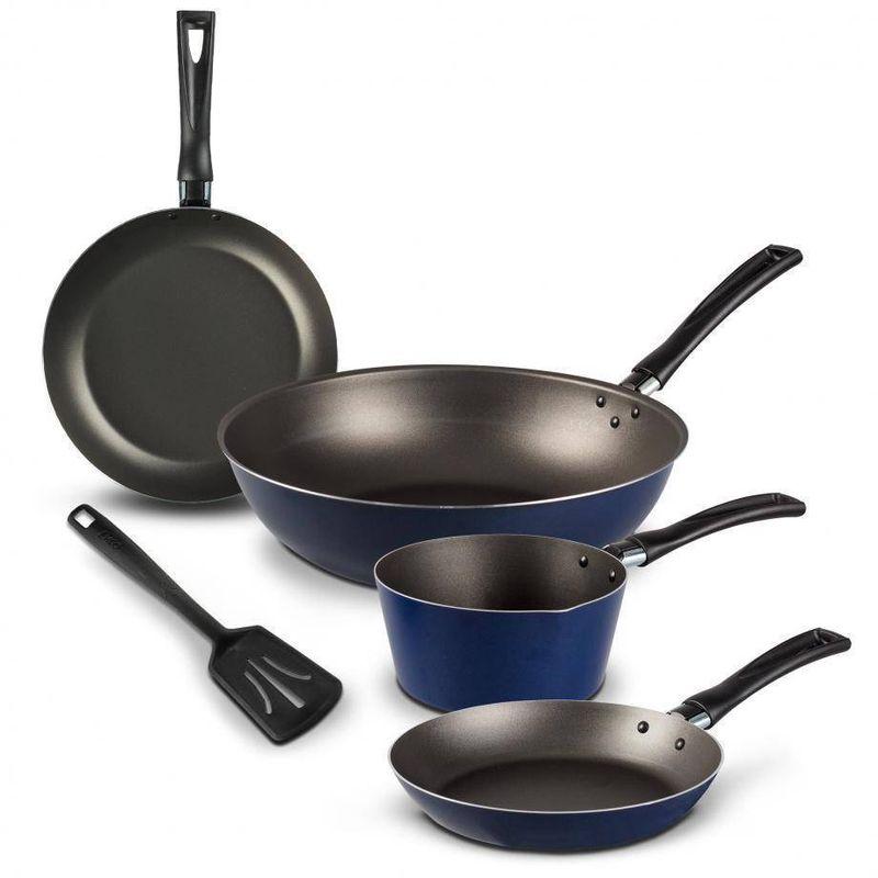 5-Pack-de-Sartenes-Ekco-Classic-de-5-Piezas-de-Aluminio-Color-Azul-con-Duraflon®-PLUS-tienda-en-linea-La-Vasconia