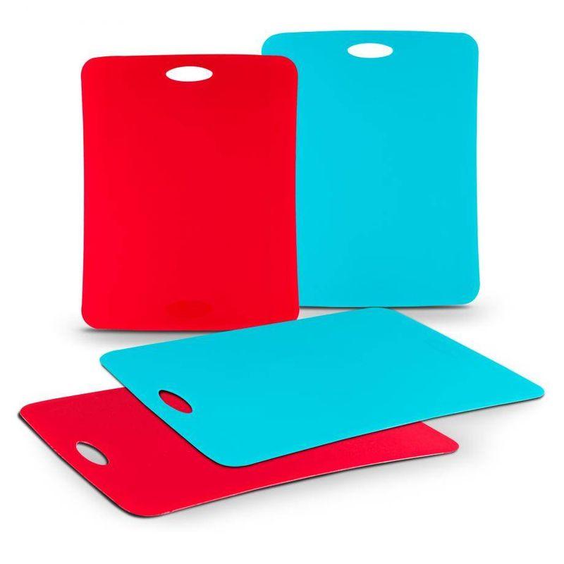 Set-de-tablas-para-picar-Farberware-de-4-Piezas-de-Polipropileno-tienda-en-linea-La-Vasconia