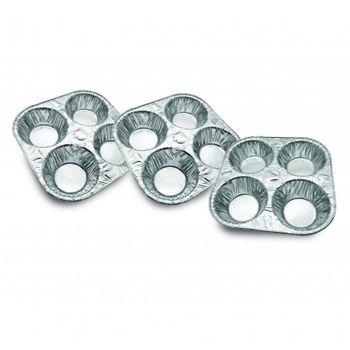 Set de moldes para muffin de Foil Ekco Bakers secrets de 3 Piezas de Foil