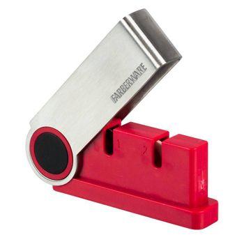 Afilador de cuchillos Farberware de Cerámica Color Rojo