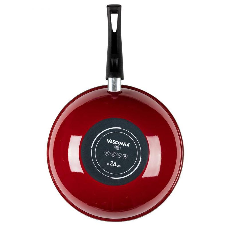 Wok-de-28-cm-Vasconia-Master-de-Vitroacero®-Color-Rojo-con-Duraflon®-PRO-Reforzado-con-Titanio-tienda-en-linea-La-Vasconia