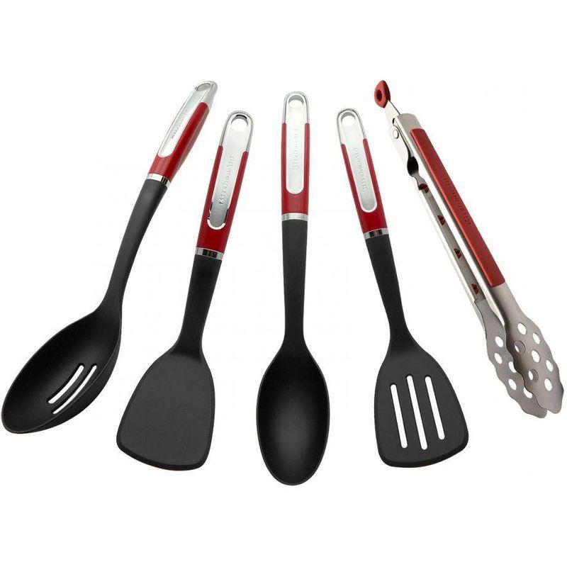Set-de-Utensilios-Kitchenaid-de-5-Piezas-de-Polipropileno-Y-Nylon-Color-Rojo-tienda-en-linea-La-Vasconia