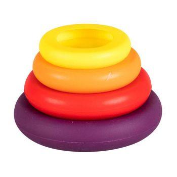4 Selladores de Silicona Farberware de 4 Piezas de Silicona Color Mixto