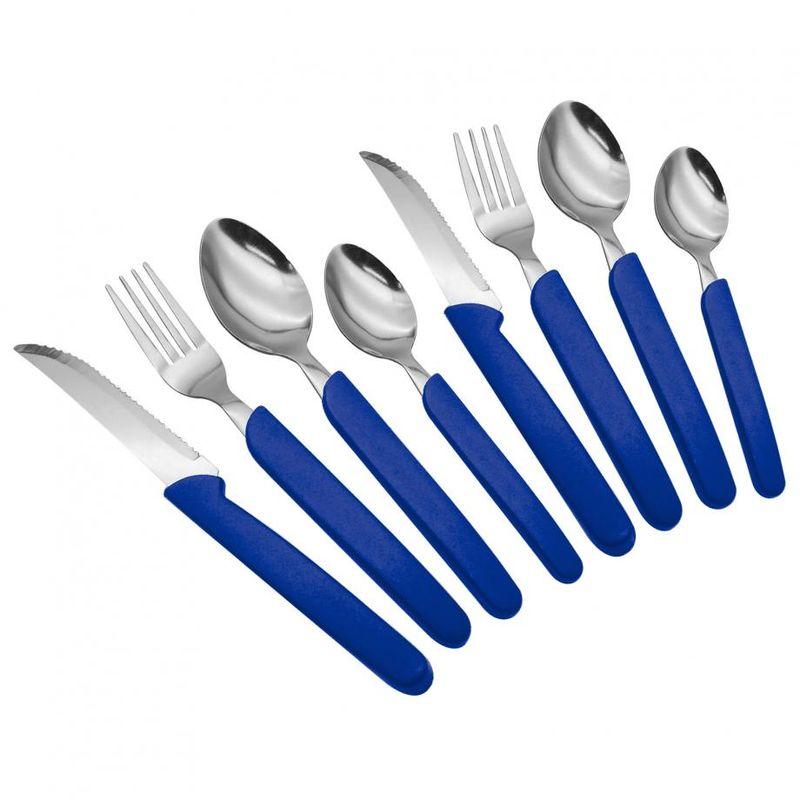 Juego-de-Cubiertos-Ekco-de-16-piezas-Azul-tienda-en-linea-La-Vasconia