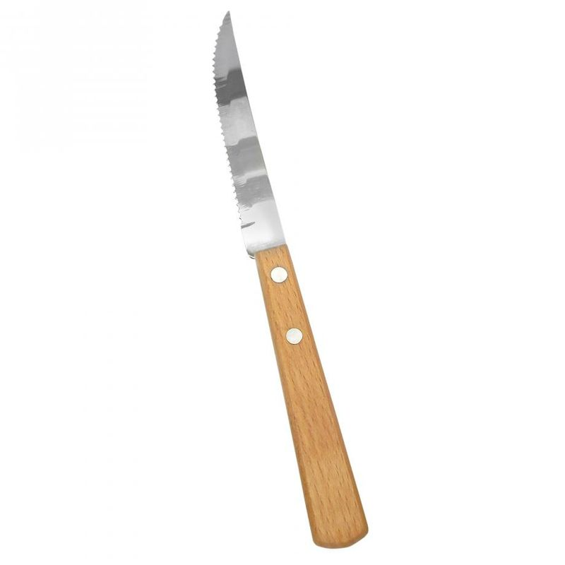 Cuchillo-para-Carne-Ekco-con-mango-de-Madera-tienda-en-linea-La-Vasconia