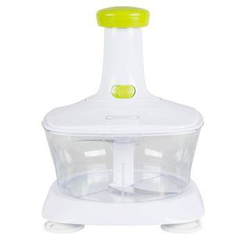 Cortador de Vegetales Manual Rice & Slice Farberware de Plástico Abs Y Acero Inoxidable Blanco