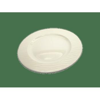 Plato Trinche de Porcelana modelo Ripple