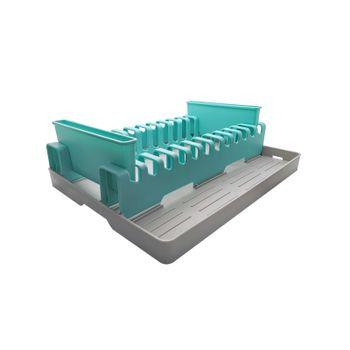 Escurridor Ekco plástico con Función 2 en 1: Con y sin accesorios