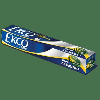 Papel aluminio Ekco 16m premium/24r