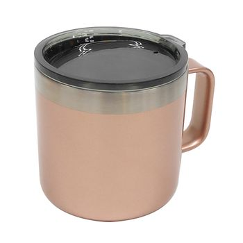 Taza acero inoxidable 430 ml rose gold