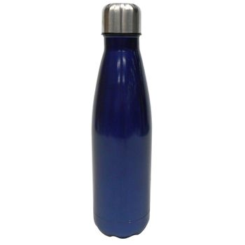 Botella de Acero Inoxidable 500ml Color Azul