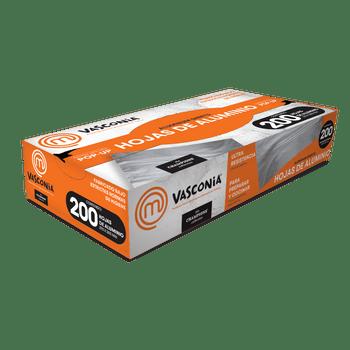 Hojas pop-up Vasconia MasterChef de 200pz ultra resistentes