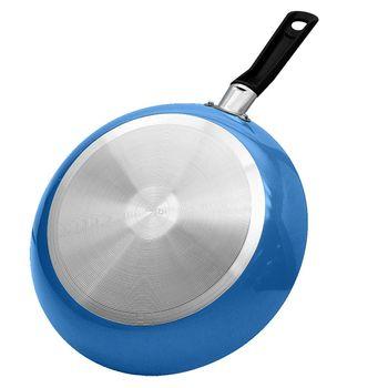 Sartén de 24 cm Ekco Yonder color Azul con Antiadherente Duraflon®