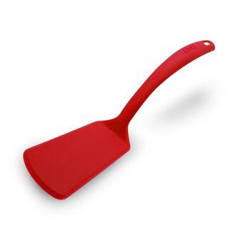 Volteador liso de nylon rojo