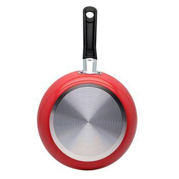 Sarten de 24 cm Deleite color Rojo con Antiadherente Duraflon®