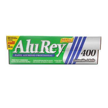 Papel Aluminio Alurey 80 metros x 29cm con tecnología Oxygen3 Health System®