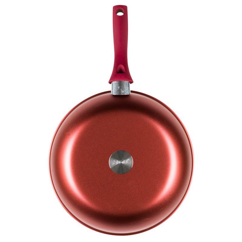 Wok-de-28-cm-Ekco-Evolution-de-Aluminio-Color-Rojo-con-Duraflon®-de-Alto-Rendimiento-tienda-en-linea-La-Vasconia