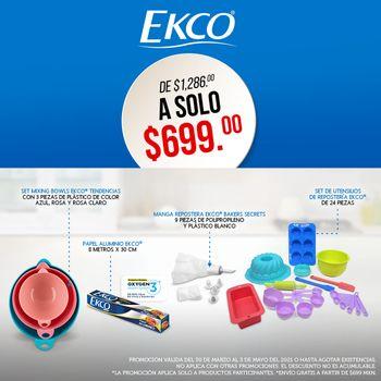 Kit Ekco Repostera Abril 2021