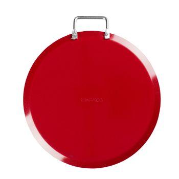 Comal Vasconia Básicos de Aluminio Color Rojo con Duraflon® de Alto Rendimiento
