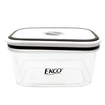 Hermético de 800 ml Ekco Fresh Everyday Cuadrado Libre de BPA con Fechador