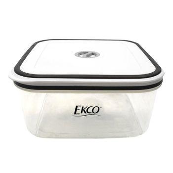 Hermético de 2.1 L Ekco Fresh Everyday Cuadrado Libre de BPA con Fechador