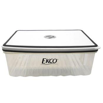 Hermético de 2.7 L Ekco Fresh Everyday Rectangular Libre de BPA con Fechador