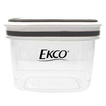 Hermético de 340 ml Ekco Fresh Everyday Cuadrado Libre de BPA con Fechador