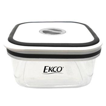 Hermético de 500 ml Ekco Fresh Everyday Rectangular Libre de BPA con Fechador