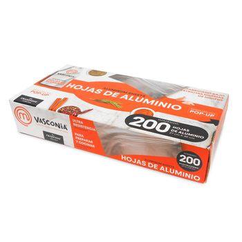 Hojas pop-up Vasconia MasterChef de 200pz Ultra Resistentes con tecnología Oxygen3 Health System®