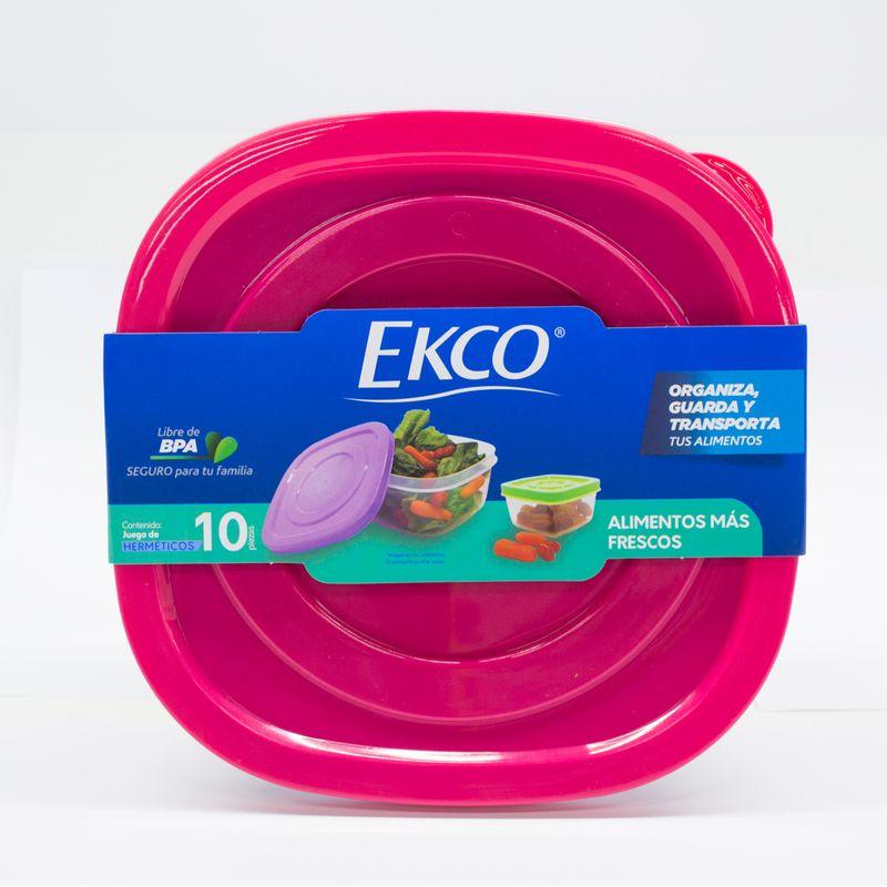set-de-hermeticos-ekco-click-it-de-10-pzs-multicolores-y-apilables-de-polipropileno