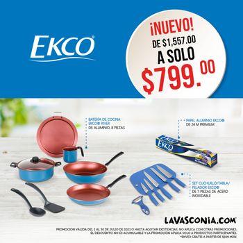 Kit Ekco River Cobre Julio 2021