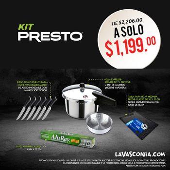Kit Presto Set Julio 2021