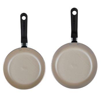 2 Pack de Cocina y utensilios Ekco 20/24 color Rojo con Antiadherente Duraflon®