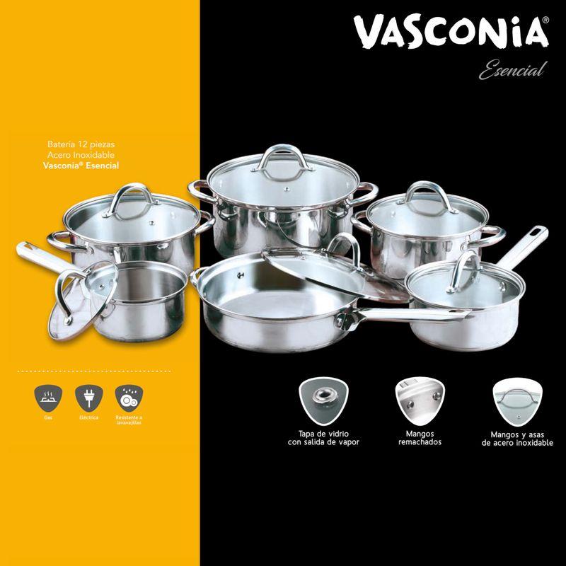 Bateria-de-Cocina-Vasconia-Esencial-de-12-Piezas-de-Acero-Inoxidable-te-lo-llevamos-hasta-tu-casa-pidelo-solo-en-lavasconia.com-¡Aprovecha-